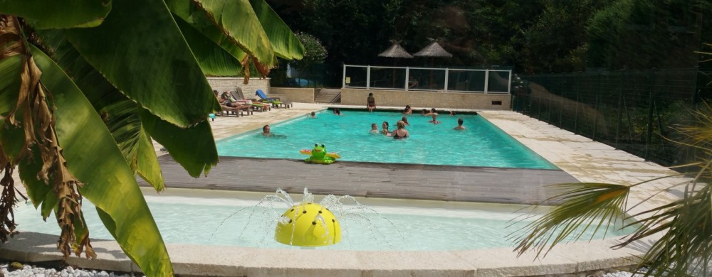 camping piscine chauffe