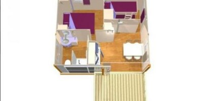 Plan Chalet 4 pers