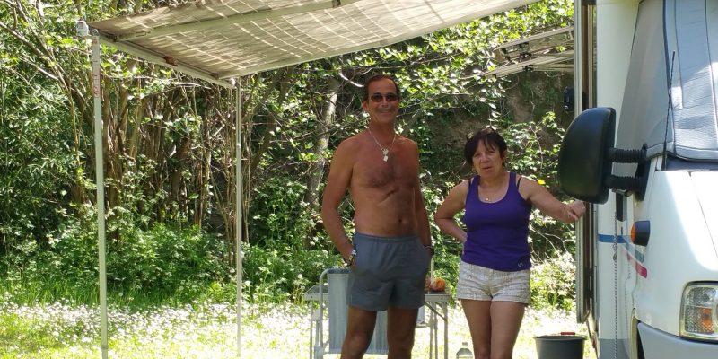 Les vacances en camping car au soleil dans le Gard au camping des sources à St Jean du Gard