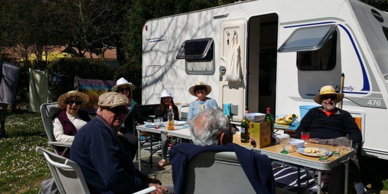 un moment de bonheur au camping des sources dans les Cevennes
